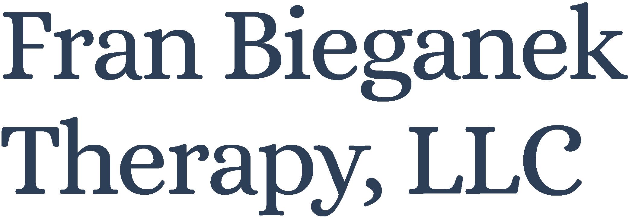 Fran Bieganek Therapy, LLC